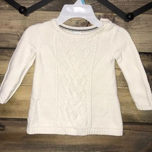 Carters Sweater Tunic 2T